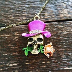 Day of the Dead Fashion Necklace